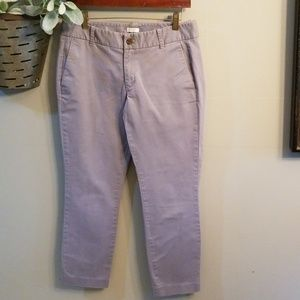 J Crew gray stretch casual pants